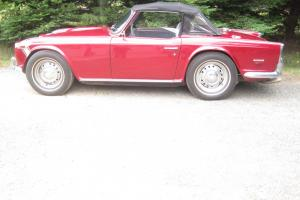 1968 Triumph TR250 great cond, runs/drives beautifully