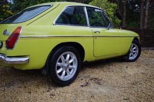 MGB GT V8 1974 TAX EXEPT VERY ORIGINAL DAYTONA YELLOW 85K MILES ORIGINAL