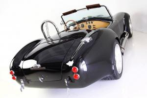 NEW 1965 BACKDRAFT ROADSTER 427 Ford 480HP T5 5 Speed Black  Tan Interior
