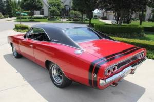 1968 Doge Charger Real Deal 440 R/T Build Sheet Gorgeou