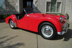 SPECTACULAR TRIUMPH TR3 WITH RECENT FRAME-OFF RESTORATION