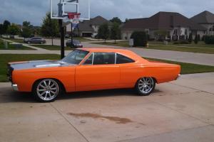 1969 Plymouth GTX. Pro touring, resto mod. Tons of money spent.