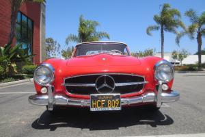 1959 190 SL Roadster mostly original paint 190SL barn find original 68,764 miles