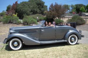 1935 auburn 852 conv 2 door