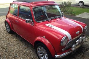 CLASSIC AUSTIN MINI RED 1967 998CC TAX EXEMPT WITH SPORTSPACK WHEELS