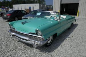 1956 Lincoln Premiere Convertible - Number 311 of 2,447 made