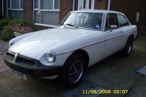 MGB GT WHITE 1979