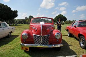 very rare! 1939 mercury eight convertible. v8 flathead