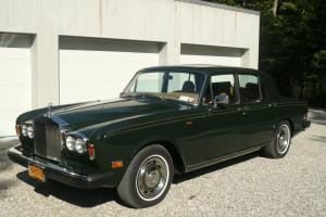 1979 Rolls Royce Silver Shadow II Sedan - 7,900 mile original car - As new