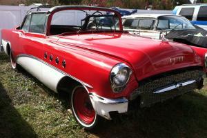 1955 Buick Super Convertible 322 CI 4 BBL power windows No Rust