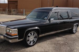 ONE of a kind custom HEARSE limousine....MUST SEE.REDUCED Photo