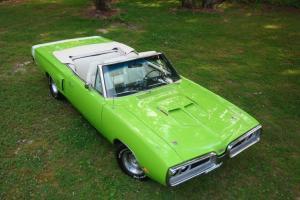 Dodge 1970 R/T Convertible 440 Mopar, A Real R/T 1 of 27, A/C, Beautiful Car!