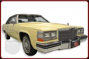 83 Cadillac Deville Original 4.1 Liter V8  Original 4 Speed Automatic  Yellow