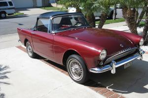 Rare 1963 Sunbeam Alpine Series 3 ST