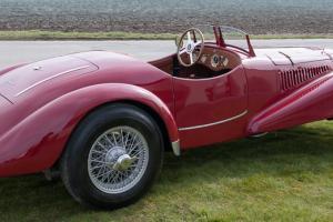 Fiat Barchetta 1500 cc 6 Cylinder Mille Miglia 1948 Maserati Red like Cisitalia
