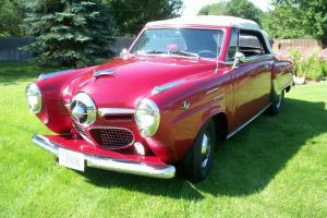50 Studebaker Commander Custom Convertable, Show quality driver, Semi street rod