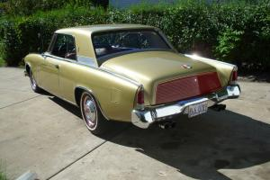 1963 STUDEBAKER GT GOLD V8 AUTO PS