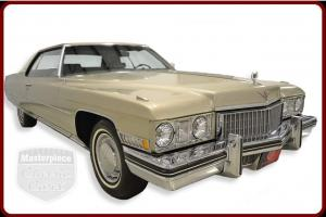 73 Cadillac DeVille Original 472/345HP  Original Turbo Hydra-Matic Trans.