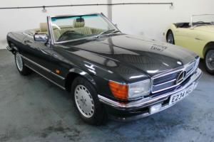 Mercedes Benz 420SL 1988 107 Model Black with Cream Interior Mercedes SL