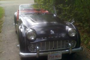 1960 Triumph TR3A frame up restoratioin