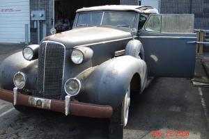 1937 Cadillac 85 Series Convertible Divider Window/Limo V-12