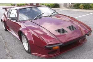 1971 71 De Tomaso Pantera RARE Manual 351 Cleveland Flared Fenders Whales Tail Photo