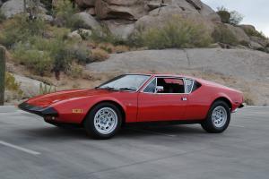 Detomaso Pantera 1973 One Family Owner Car Original Arizona Car with Paperwork!