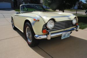 1968 Triumph TR250 Extremely Nice 73,000 miles all Original Looks and Runs Exc.