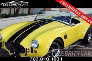 1965 Shelby Cobra 427 SC by Midstates show car Pro Charger Blower 750HP 4 Speed