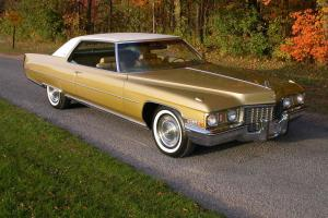 **  1972 Cadillac Coupe DeVille  **