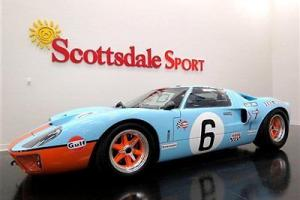 1966 GT40 MKI GULF * SUPERFORMANCE * 185 MILES * ROUSH 427IR w 550HP * ZF TRANS