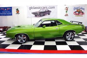 1970 PLYMOUTH CUDA 440 4SPD RESTO MOD PRO TOURING SHOW CAR