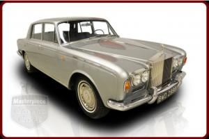 67 Rolls Royce Silver Shadow  6.2 Liter V8 3 Speed Automatic / Grey / Blue