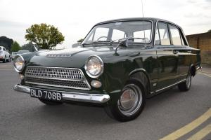 1964 FORD CORTINA DE LUXE AUTOMATIC MK1 GOODWOOD GREEN, 17000 MILES FROM NEW