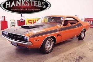 "1970 Dodge Challenger T/A 340 Six Pak Go Mango 4-speed ""Hanksters"""