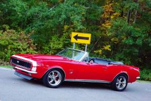 RARE! LOADED  SUPER SPORT / RALLY SPORT 396 RED CONVERTIBLE