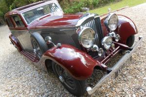 Bentley DERBY 3 1/2 LITRE Standard Car Burgundy, Maroon eBay Motors #390681602292