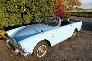 1965 SUNBEAM ALPINE GT SERIES 5 HARDTOP MEDITERRANEAN BLUE RARE 4 SEAT MODEL