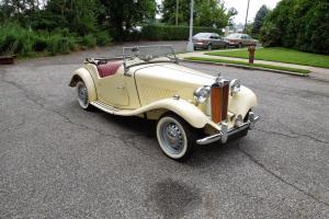 MGTD 1950 very early car