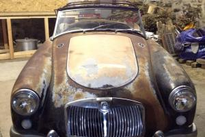 MGA Roadster Restoration Project. Amazing Condition. LHD Californian car