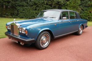 Rolls-Royce Silver Shadow Saloon car Blue eBay Motors #390682238534