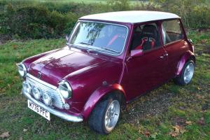 1994 ROVER MINI 35 MAUVE/PURPLE
