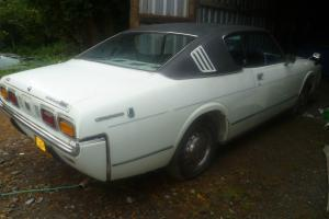 1973 TOYOTA CROWN 2.6 TOYOGLIDE COUPE HARDTOP WHITE PROJECT RARE