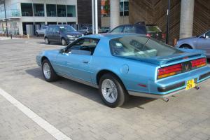 1988 PONTIAC FIREBIRD BLUE V8 Formula Auto
