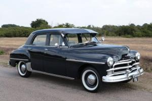 1952 PLYMOUTH P20 SPECIAL DELUXE, RHD, VERY RARE