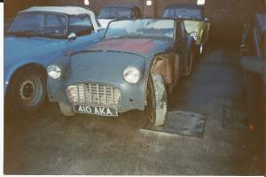 Triumph TR3 Restoration Project