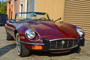Jaguar E type 1974 roadster, excellent driver, both tops, extremely good deal
