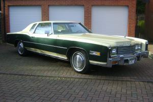 1977 CADILLAC FLEETWOOD ELDORADO 1 OWNER ONLY 14,000 MILES LAST OF THE BIG ONES