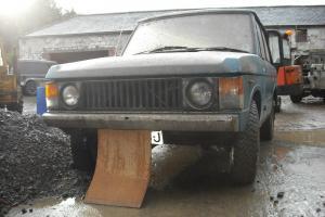 Early Range Rover 2 Door Tax Exempt 1970 1971 No. 238