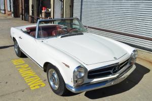Mercedes Pagoda sl230 1965, both tops, excellent original car